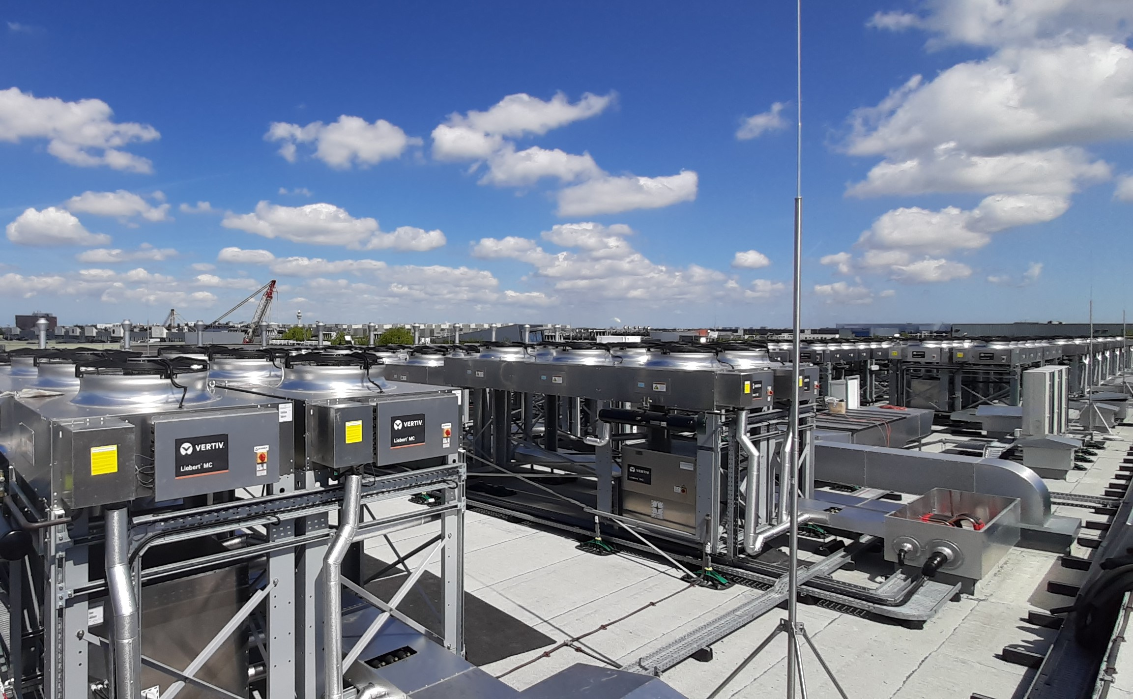 Turnkey Data Centre : 20MW Amsterdam